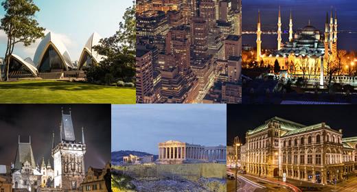 Ciudades que hay que visitar una vez en la vida