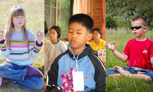 Como enseñarle a los niños a meditar