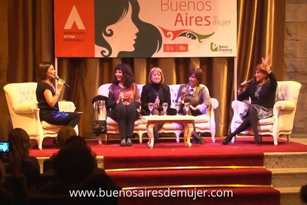Nora Cárpena, Mercedes Carreras, Zulma Faiad y Silvia Montanari en Buenos Aires de Mujer