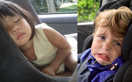 Consejos sobre como viajar en coche con chicos